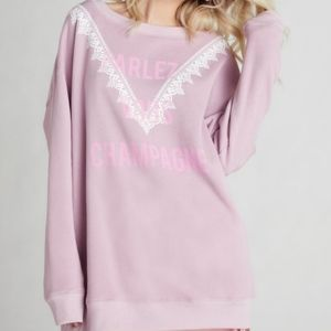 NWT WILDFOX FITS L/XL SWEATSHIRT OVERSIZED